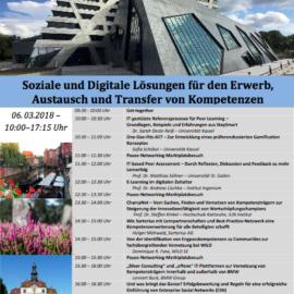 ChampNet präsentierte Kernergebnisse auf dem Workshop der MKWI Konferenz am 6.3.2018 in Lüneburg